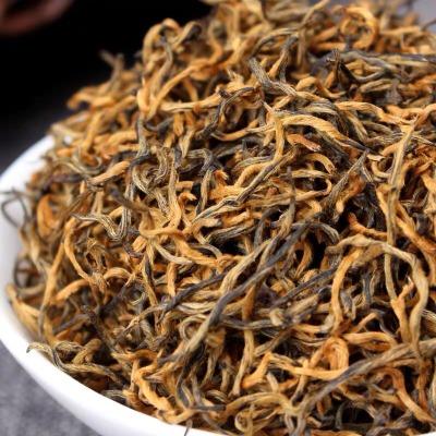 金丝红茶 2020云南凤庆滇红茶 蜜香金丝滇红 小金丝 500