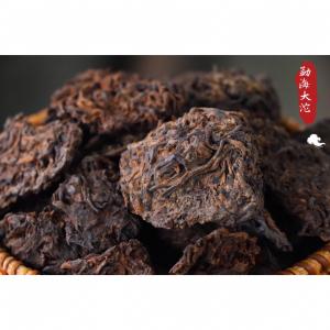 2015老茶头勐海大沱云南陈年普洱茶自然沱茶醇香古树熟茶发酵