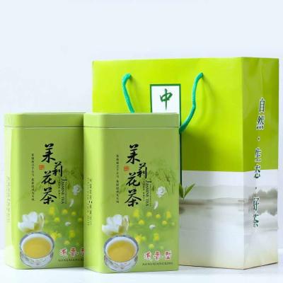绿茶茉莉花茶叶浓香型新茶花草茶实惠试喝小包装袋散装礼盒罐装