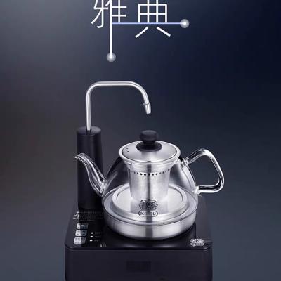 吉谷TB0308高硼硅玻璃恒温电水壶自动上水电热烧水壶煮茶壶