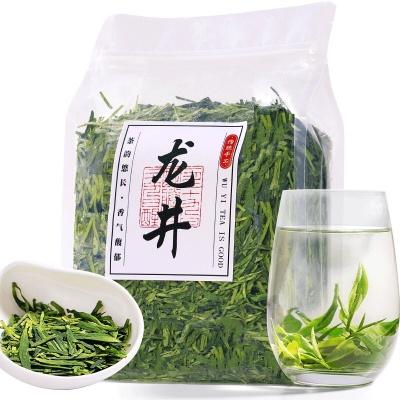 2020年西湖明前龙井绿茶茶叶新茶杭州春茶散装茶叶批发袋装散装