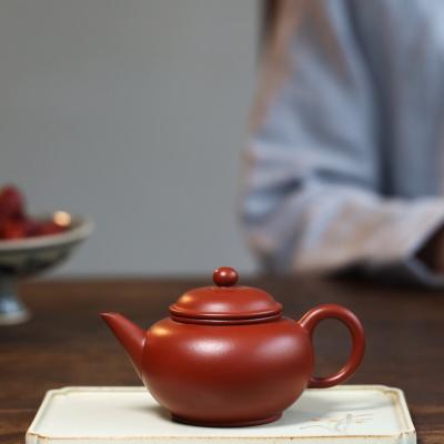 经典传统实用器【水平壶】泥料:家藏极品大红袍 180cc