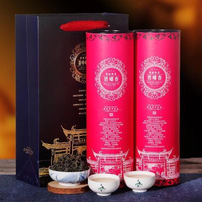 碧螺春绿茶500g礼盒装罐装 高山云雾茶罐装茶叶春茶