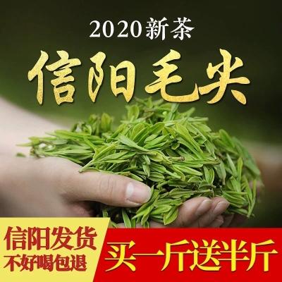 信阳毛尖2020新茶浓香型高山绿茶特级嫩芽茶叶散装礼盒装500克