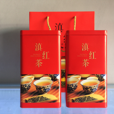 云南临沧特级古树蜜香滇红茶,功夫红茶,礼盒套装500g。热卖促销产品。