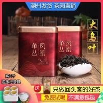 大乌叶凤凰单丛茶清香型雪片工夫茶500克高山老枞炭焙潮州单枞茶