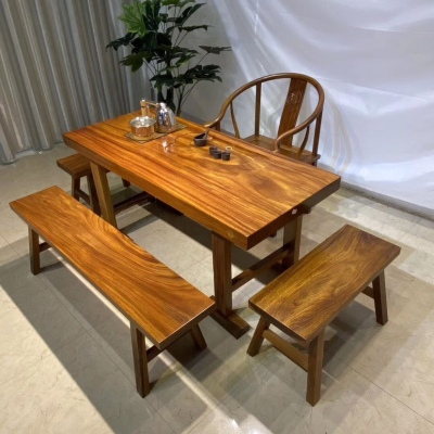 实木整板桌