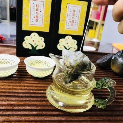 桂花乌龙茶🍵 对于口臭、视觉不明、荨麻疹、十二指肠溃疡、胃寒、胃疼会