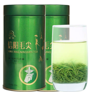 信阳毛尖2021新茶叶明前特级嫩芽绿茶自产自销散装毛峰安吉白茶龙井雀舌