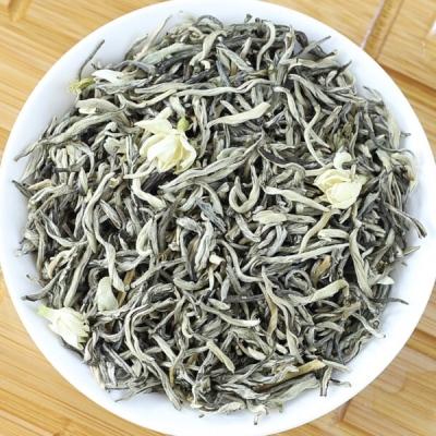 2020年新茶广西横县茉莉花茶叶特级小金针花茶散装 礼盒装500克