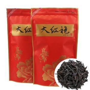 新茶大红袍茶叶武夷岩茶大红袍肉桂散装浓香乌龙茶袋装500g