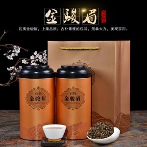 金骏眉铁罐装手提袋一个红茶
