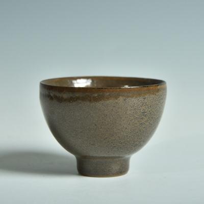 龙泉青瓷仿古茶叶末釉主人杯创意陶瓷功夫茶具品茗杯吴龙手工杯子