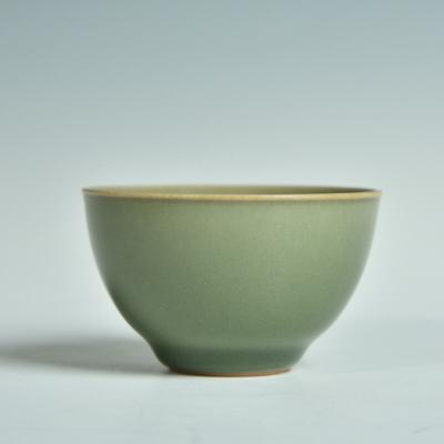 龙泉青瓷茶碗主人杯手工陶瓷功夫茶具品茗杯茶盏金建滔茶杯小杯子