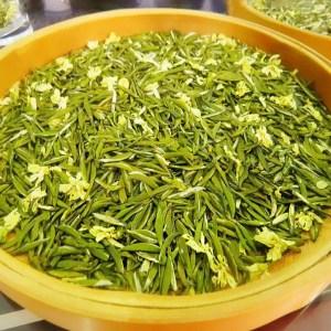 细芽飘雪茉莉花茶2020新茶四川特级碧潭浓香型高档茶叶散装500g