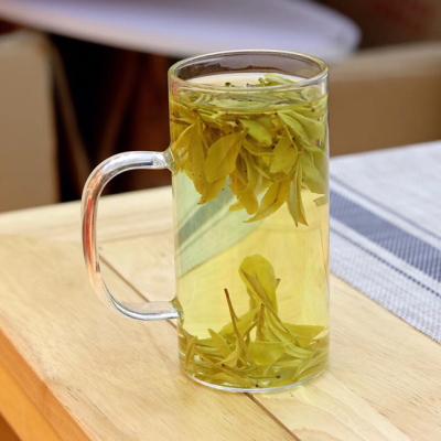 正宗黄金芽2021新茶安吉白茶春茶叶绿茶黄金茶叶散装浓香半斤一斤装