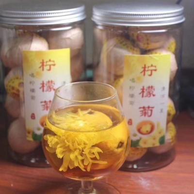 爆款柠檬菊花茶夏季祛暑茶降火清热礼品茶花茶