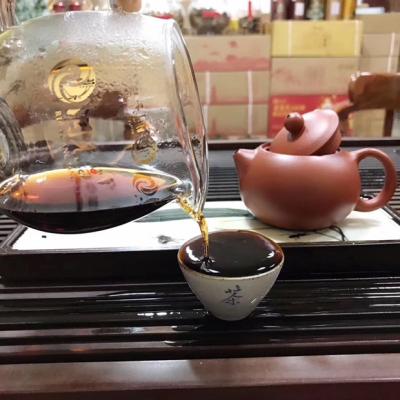 爆款2000年勐海古树大叶茶香甜糯米香茶汤通红普洱茶熟普礼品茶