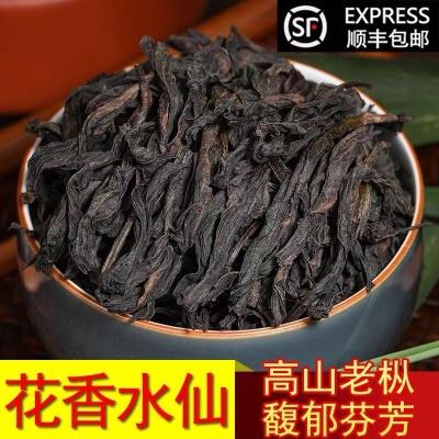 高山老枞 大红袍 乌龙新茶叶 武夷山正岩茶散装 老枞水仙 500g罐装