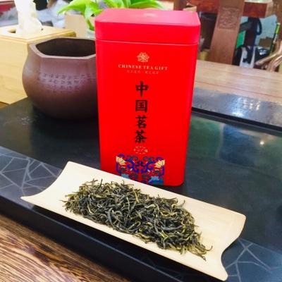 梅占金骏眉红茶茶叶散装特级正宗武夷红茶金骏眉礼盒装蜜花香 200克/罐