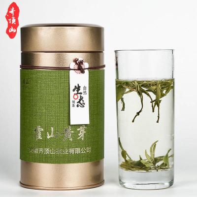 2020年新茶春茶霍山黄芽 特级黄芽 微发酵工艺 安徽特产 50/罐