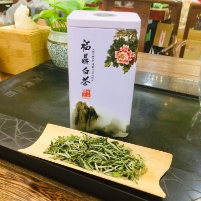 2020年明前茶 福鼎白茶 高级白牡丹 散茶 核心产区茶 150克/罐