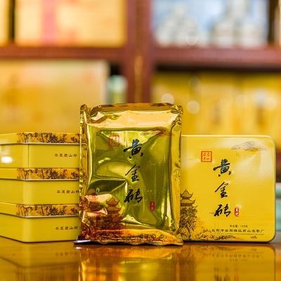 岳阳黄茶 黄金砖 紧压茶 名片盒包装 湖南特产 180克/盒