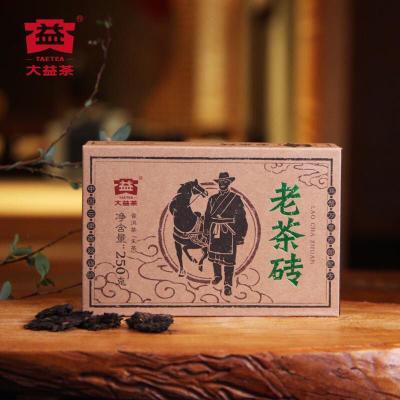 品牌 大益茶厂老茶砖生茶 1801 250克一砖