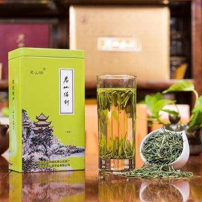2020新茶雀舌茶湖南绿茶君山绿银针浓香型特级明前嫩芽叶茶 150克