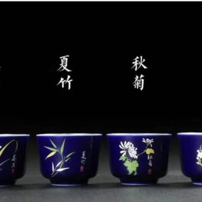 春夏秋冬禅定小组,好器鎏银制!【杀菌·抗毒】