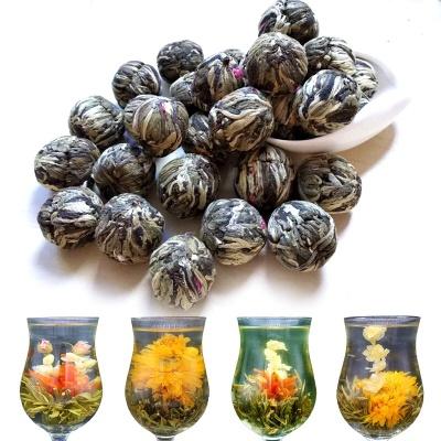 工艺花茶组合型茶叶会开花纯手工艺花茶球茉莉花茶一颗一泡瞬间开花500克