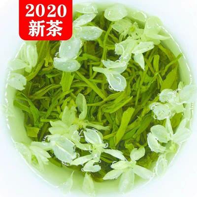 飘雪茉莉花茶2020新茶特级四川茉莉花茶花毛峰袋装浓香茶叶散装500g