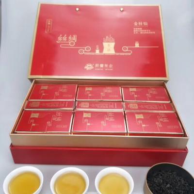 《祥馨茶业》之丝绸0596闽南乌龙茶,373.5克礼盒装