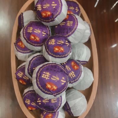 《祥馨茶业》之新会天马小青柑,500克,陈年熟普