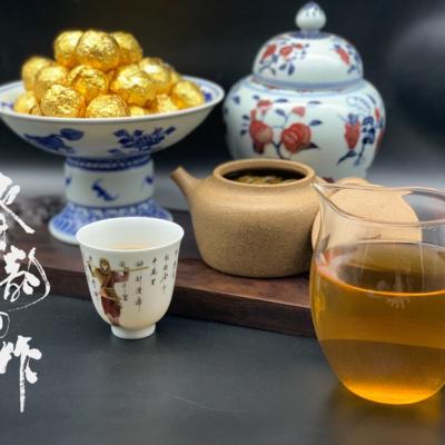 2018年易武古树生茶龙珠