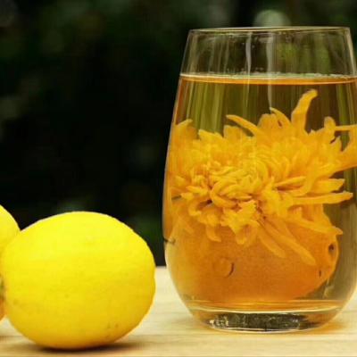 爆款柠檬金丝皇菊茶祛暑降火养生礼品茶1斤500克