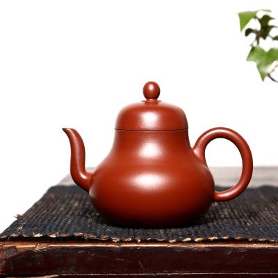 【品名】思亭【泥料】大红袍【容量】190cc±10cc  七孔出水