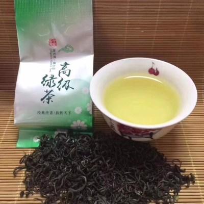 明前绿茶50克鲜爽清甜豆香浓郁高山生态绿茶野生绿茶原生态绿茶散茶大袋装