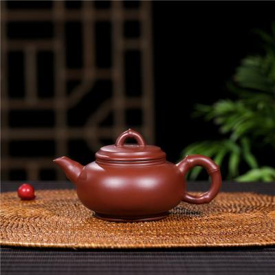 宜兴紫砂壶茶壶竹樱功夫茶壶泡茶手工紫砂壶170CC包邮