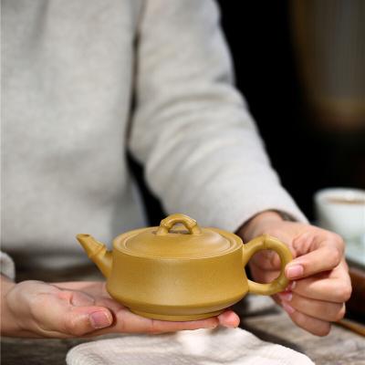 宜兴紫砂壶竹运茶壶手工功夫茶壶泡茶200CC包邮