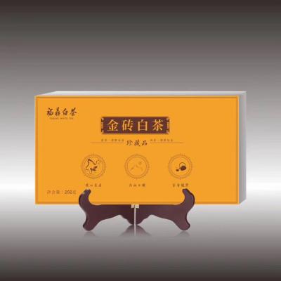 福鼎点头金砖白茶2016年金砖250克这款2016年金砖老白茶