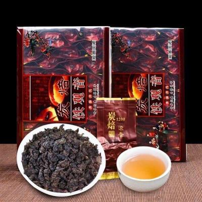 13年碳焙陈年铁观音老茶健胃茶浓香型铁观音熟茶乌龙茶500g装