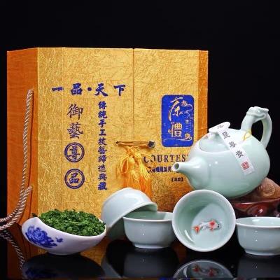 新茶安溪铁观音茶叶500克 浓香型型乌龙茶袋装 茶叶礼盒装