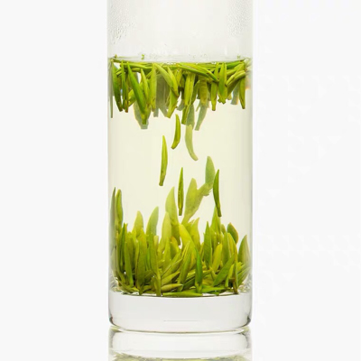 日照绿茶2021新春茶特级银针手工单芽头高山浓香原生态板栗香250g