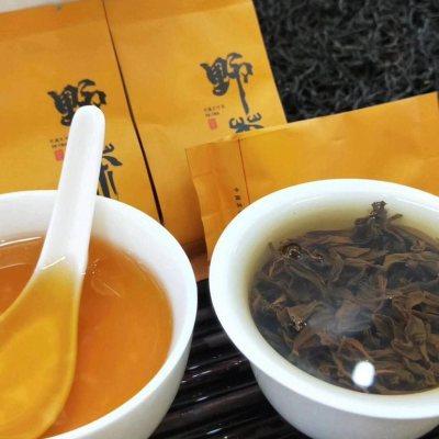 武夷山野生红茶特级野茶正山小种野茶500g包邮