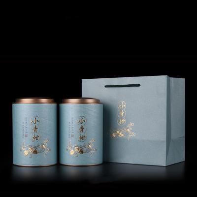 小青柑 批发价 新会小青柑普洱茶 柑普茶 罐装 500g陈皮普洱茶
