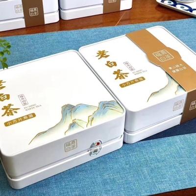 安吉白茶2020新茶明前雨前白茶茶叶绿茶罐装礼盒装送礼佳品