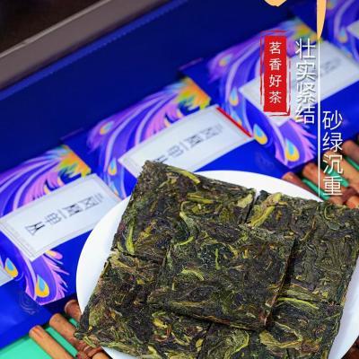 凤凰单丛茶抽湿蜜兰香单枞茶潮州乌岽特级大乌叶春单丛茶叶清香型