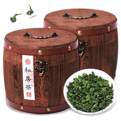 福建安溪浓香型铁观音 木桶礼盒装500g口粮茶叶实木礼盒装