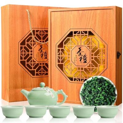 2020春茶安溪铁观音茶叶浓香型特级礼盒装500g新茶兰花香乌龙茶叶